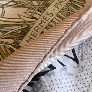 Grand Vent Hermes silk scarf